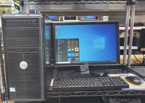 Dell desktop computer windows 10 for Sale in Bellaire, TX