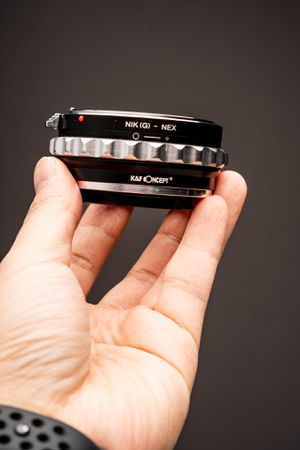 K&F Concept E Mount adapter to Nikon F Mount for Sale in Los Angeles, CA