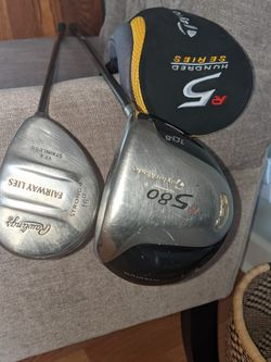 Taylormade R5 Driver (10.5 Degree With Stiff Flex) And Rawlings 16 Degree Fairway Wood for Sale in Raleigh,  NC
