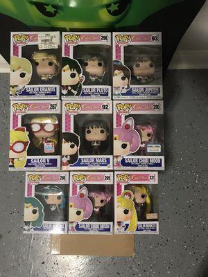 Funko Pop Lot Sailor Moon (9) for Sale in Chicago, IL