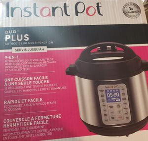 Instant pot duo plus 9 in 1 brand new for Sale in Greece, NY