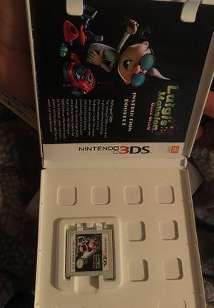 3DS Luigi's Mansion Dark moon for Sale in Goodyear, AZ