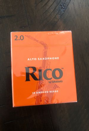 Alto saxophone 10 Unfiled Reeds 2.0 for Sale in Boise, ID