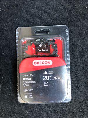 Oregon Controlcut 20 in chainsaw for Sale in San Diego, CA