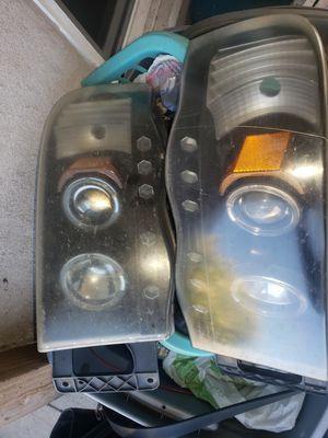 2005 dodge ram halo headlights for Sale in Fresno, CA