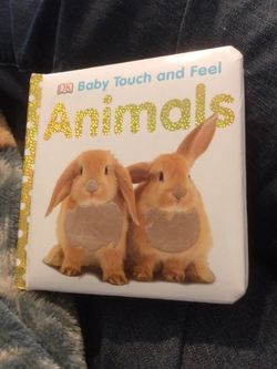 DK Baby Touch And Feels Hardback Board Book Animals for Sale in Chesapeake,  VA