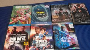 Movies blue ray for Sale in Duvall, WA