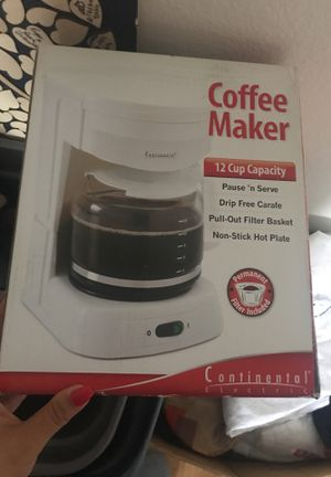 Brand new in box coffee maker for Sale in Bartow, FL