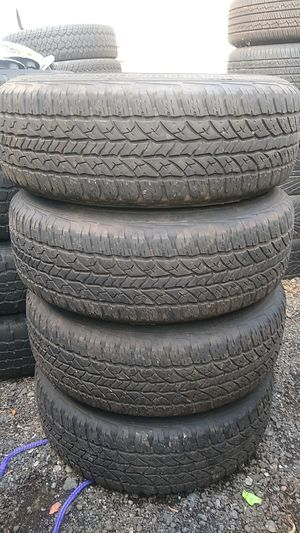 245 70 17 Jeep Cherokee Laredo tires only $300 tires and wheels $400 for Sale in Kent, WA