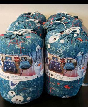 Frozen olaf bed in bag for Sale in New Brunswick, NJ