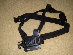 Chest body strap for action camera/go pro for Sale in Indianapolis, IN