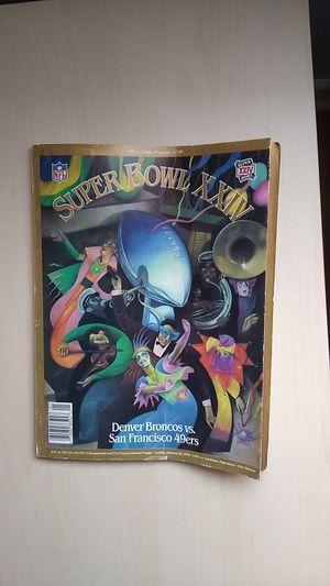 SUPER BOWL XXIV Magazine for Sale in Palatine, IL