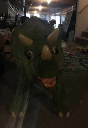 Playskool Triceratops Ride On Animated Dinosaur for Sale in Scituate, RI