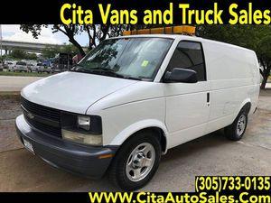 2003 Chevrolet Astro Cargo 3dr Extended Cargo Mini-Van for Sale in Miami, FL