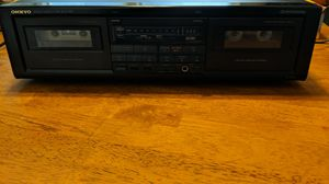 Onkyo TA-W202 Stereo Cassette Tape Deck R1 for Sale in Beltsville, MD