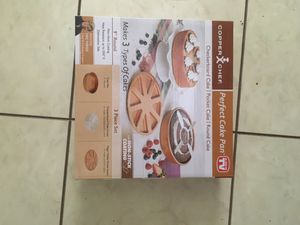 Copper Chef - Perfect Cake Pan for Sale in Berwyn Heights, MD