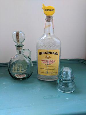 Antique liquor bottles for Sale in Harpers Ferry, WV