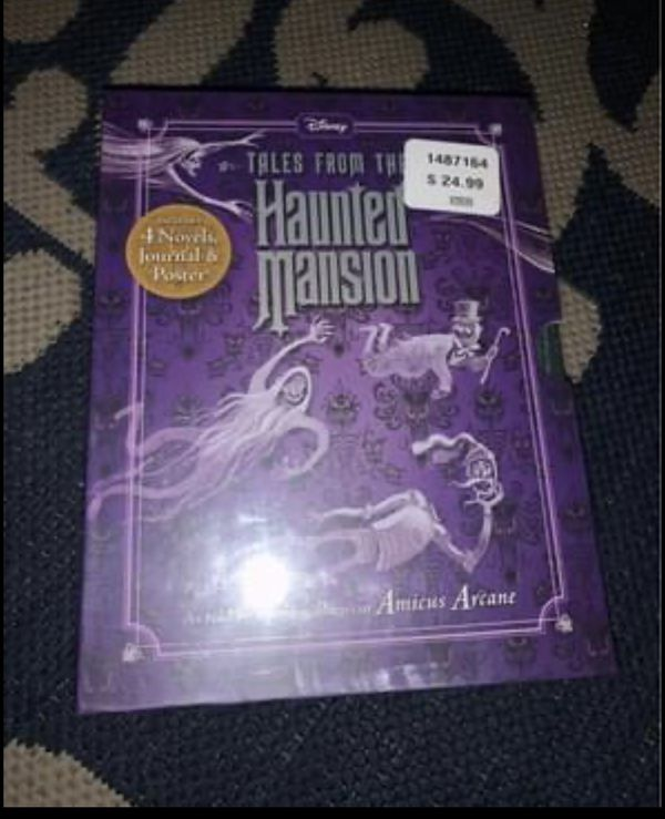 Disney Tales from the Haunted Mansion Book Series books 1-5 Brand New Sealed in Plastic