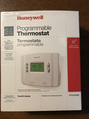 Honeywell 5/2 Programmable Thermostat for Sale in Livonia, MI