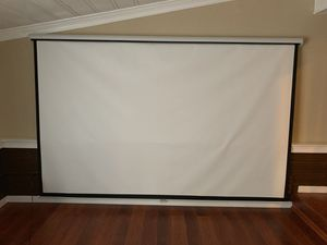 Projector screen for Sale in Silver Spring, MD