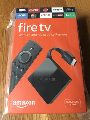 Fire TV with Ultra HD4K and Alexa voice remote for Sale in Lexington, KY