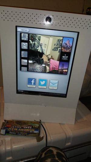 Photo booth. Great for party functions...touch screen for Sale in Santa Maria, CA