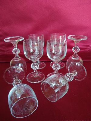 Aperitif Crystal glass set of 8 for Sale in Aurora, CO