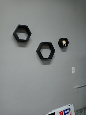 Hexagon wall shelves for Sale in Tampa, FL