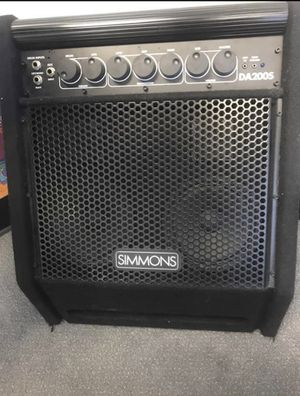 Simmons DA200S electronic drum set monitor for Sale in Los Angeles, CA