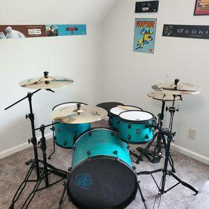 Sjc drumset, pathfinder kit for Sale in Spring Hill, TN