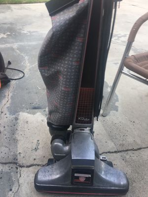Curby vacuum for 150 dollars good condition the only thing it needs the Bush's roller for Sale in Covina, CA