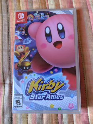 Kirby star allies nintendo switch game for Sale in Los Angeles, CA