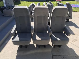 Set of 3 reclining van conversions RV motorhome seats for Sale in Inglewood, CA