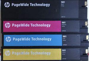 Hp 981 ink cartridges. for Sale in Murrieta, CA