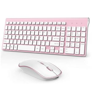 Rosy Brand New Joyaccess Quiet Keyboard And Mouse Set for Sale in Tampa, FL