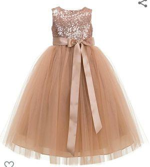 Rose Gold Flower Girl Dress for Sale in Franklin, TN