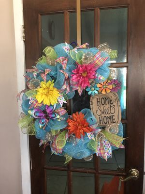 Spring/Summer Wreath for Sale in Harvey, LA