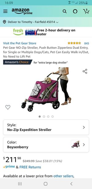 Large dog stroller for Sale in San Diego, CA