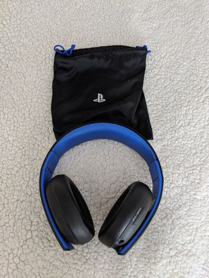 Sony Playstation Gold Wireless Stereo Headset for Sale in Denver, CO