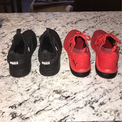 Two Pair Of Puma Shoes Size 10 for Sale in Kennesaw,  GA
