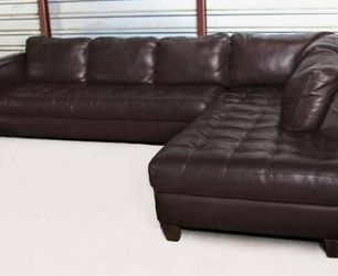 Natuzzi Italian Leather Sectional for Sale in Chandler,  AZ
