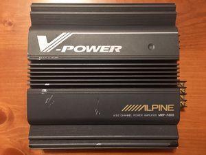 Alpine MRP-F200 V-Power 4-Channel Amplifier for Sale in Bellevue, WA