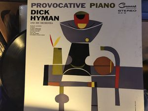 Provocative piano. Dick Hyman and his orchestra Jazz Lp. Vinyl record for Sale in Roseville, CA
