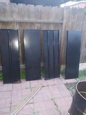 Black metal shelves for Sale in Modesto, CA