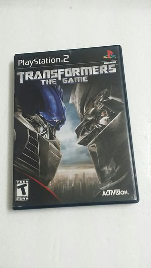 Trans Formers The Game, PS2 for Sale in El Cajon, CA