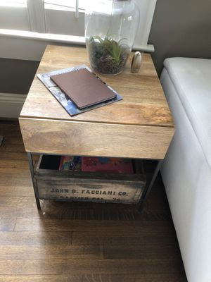 West Elm BRAND NEW UNUSED side table for Sale in Atlanta, GA