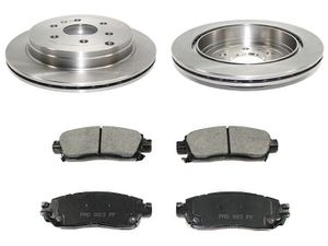 Brake rotors and brake pads for chevy vehicles for Sale in San Antonio, TX