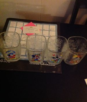 Disney McDonald's collectible glasses year 2000 for Sale in Seffner, FL