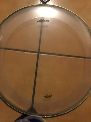 """Ludwig 18"""" bass drum head for Sale in Los Angeles, CA"""