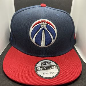 WASHINGTON WIZARDS NEW ERA NBA SNAPBACK HAT BRAND NEW for Sale in Arlington, VA